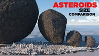 La taille des astéroïdes