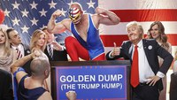 Golden Dump (The Trump Hump) by Klemen Slakonja