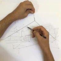 Technique pour dessiner en perspective