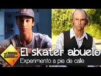 Les apparences sont trompeuses (titre original : Las apariencias engañan: el skater abuelo - El Hormiguero 3.0 )