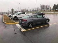 Quand tu confonds sortie de parking avec place de parking