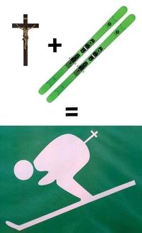 Les curés font du ski