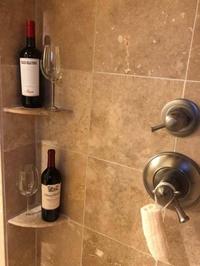 Pour la douche