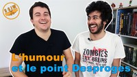 L'humour et le point Desproges