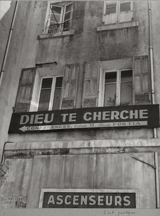 ...rue Fortia (centre-ville de Marseille!