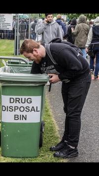 Recyclage en festival
