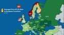 Prix moyen d'un demi-litre de bière en Europe