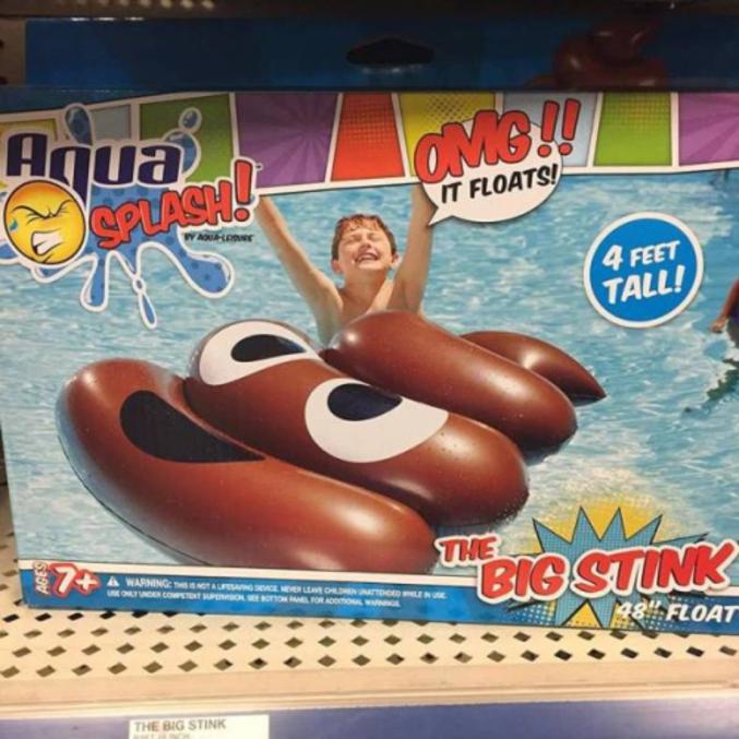 Pour s'amuser dans la piscine.