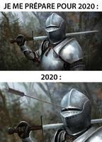 Quand je me prépare pour 2020