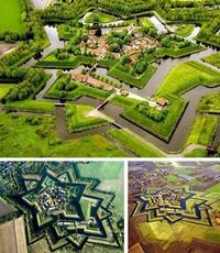 La place forte de Bourtange au Pays-bas