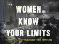 Femmes, connaissez vos limites !