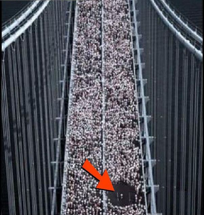 Quand tu lâches une incongruité au marathon de New-York (doublon possible)