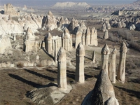 La Cappadoce, en Turquie...