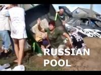 A la piscine au kholkoze