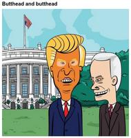 Sitcom animé à la Maison Blanche.