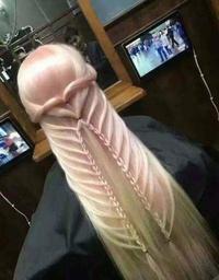Un coiffeur phallique ...