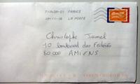 Pour vos voeux, pensez aux timbres banane !