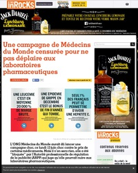 Une campagne de Médecins du Monde censurée pour ne pas déplaire aux laboratoires pharmaceutiques