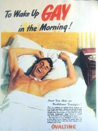 Avec Ovomaltine, réveille-toi gay dès le matin !