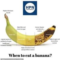 Kan manger une banane ?