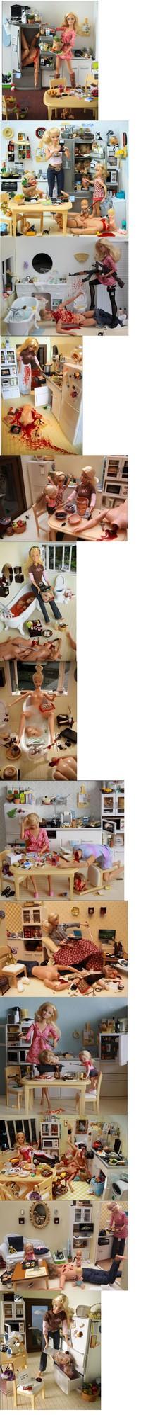 Barbie tueuse en série