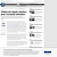 Les robots de youtube, seraient-ils sensibles?