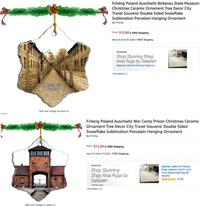 Au moment des fêtes de fin d'année, Amazon a fini par retirer de son catalogue ces 2 ornements pour sapin de Noël...