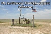 Le mont Sunflower