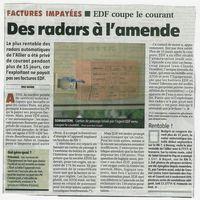 Edf et les radars