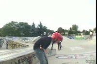 Collision de skaters