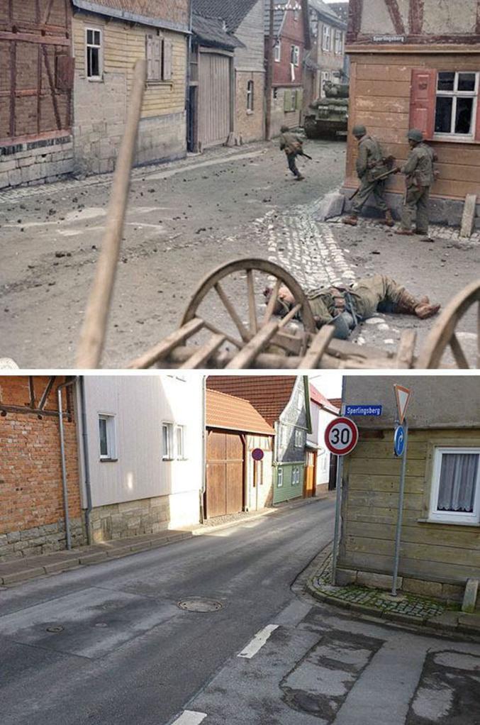 ...en 1945 et de nos jours.