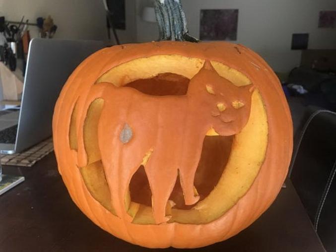 Pour Halloween.