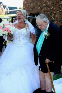 Quand tu as trop maigri pour le mariage