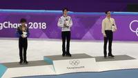 Podium des JO 2018