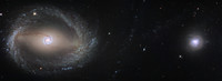 NGC 1512 et 1510