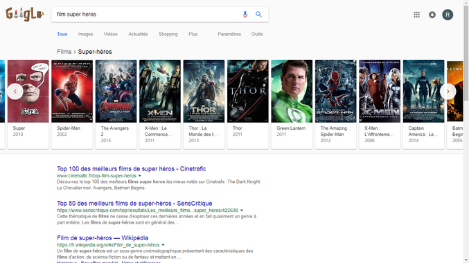 Ou bien Google...