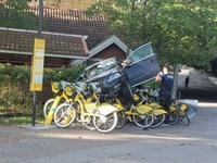 Kan tu n'aimes pas les vélibs