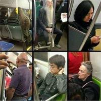 Harry dans le métro