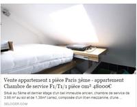 Appartement à saisir
