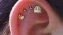 Boucle d'oreilles pour geekette