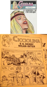 Quand la Cicciolina était AUSSI une héroïne de BD