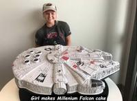 Gâteau Faucon Millenium
