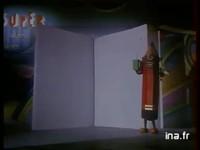 """Publicité de 1986 pour les cahiers """"Super Conquérant"""""""
