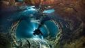 Plongée dans une ancienne mine d'opales inondée