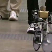 Robot à vélo