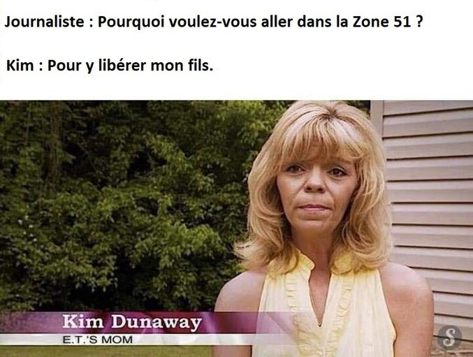 Kim à la recherche de son fils.