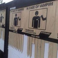 En cas de Vampire