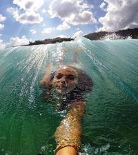 Selfie aquatique