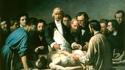 1864, hôpital de la Charité, Paris: Leçon d'anatomie du professeur Velpeau