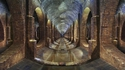 Réservoir souterrain de l'époque victorienne